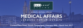 "This 3-day forum is the ""must attend"" event for those senior decision-makers looking to drive their medical affairs teams and departments and enhance their KOL & stakeholder engagement at all levels. 